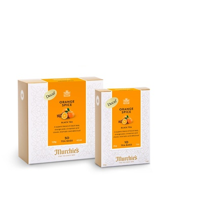 Orange Spice Decaf Tea Bags
